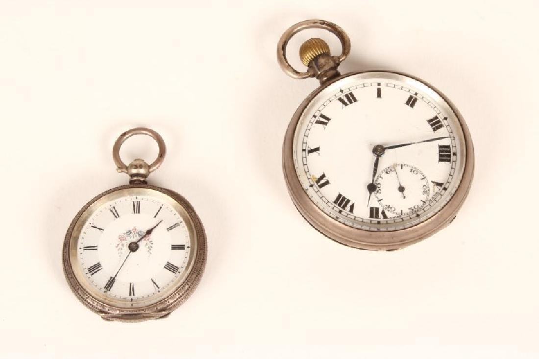 Edwardian Sterling Silver Pocket Watch,