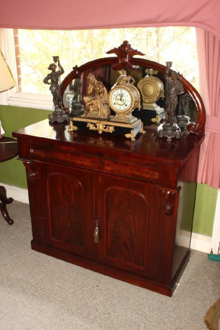 Victorian Mahogany Chiffonier,