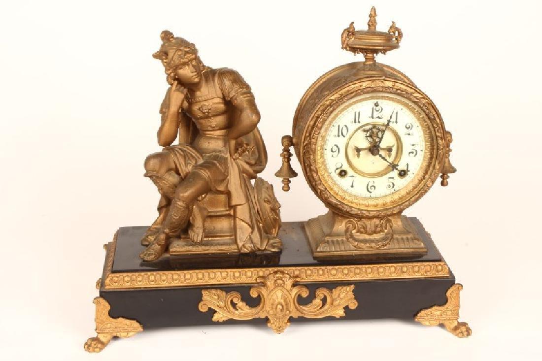 Ansonia Figural Mantle Clock,