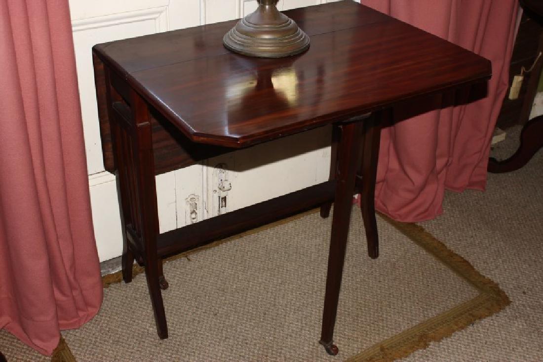 Petit Double Drop Side Table,