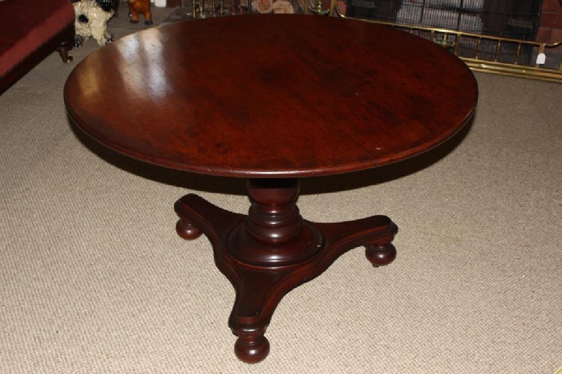 Australian Colonial Cedar Tilt Top Table,