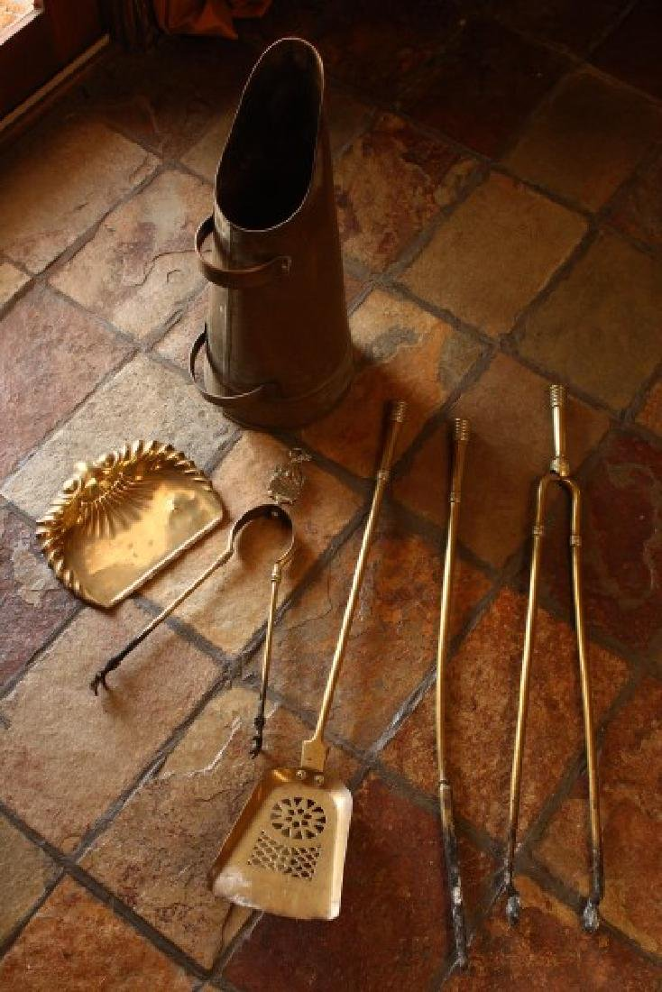 Assorted Fire Place Tools,
