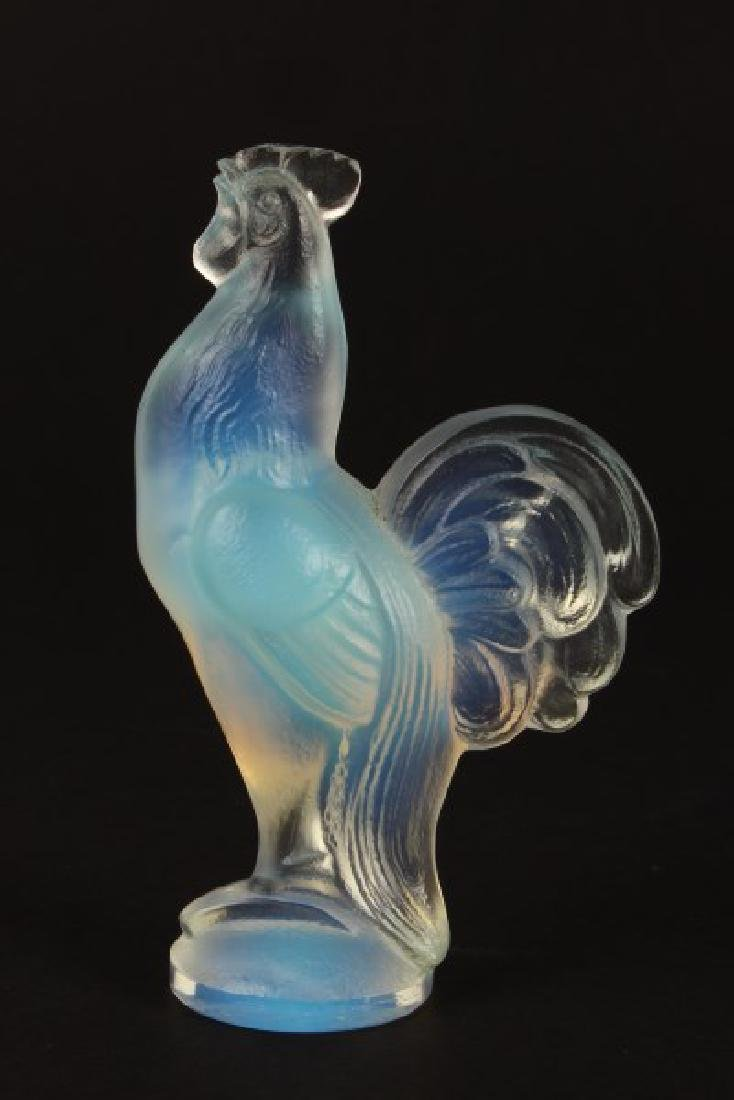 Sabino Opalescent Glass Rooster,