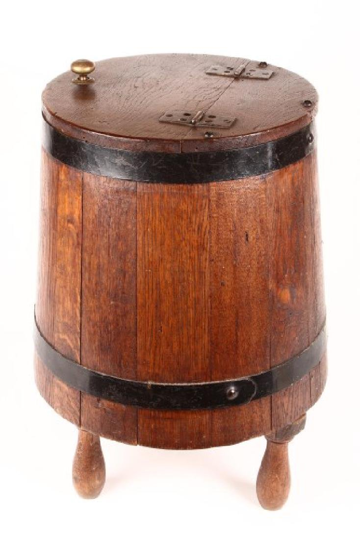 Late 19th Century Oak Butter Churn,