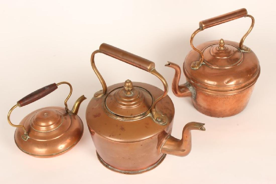 Two Copper Kettles,