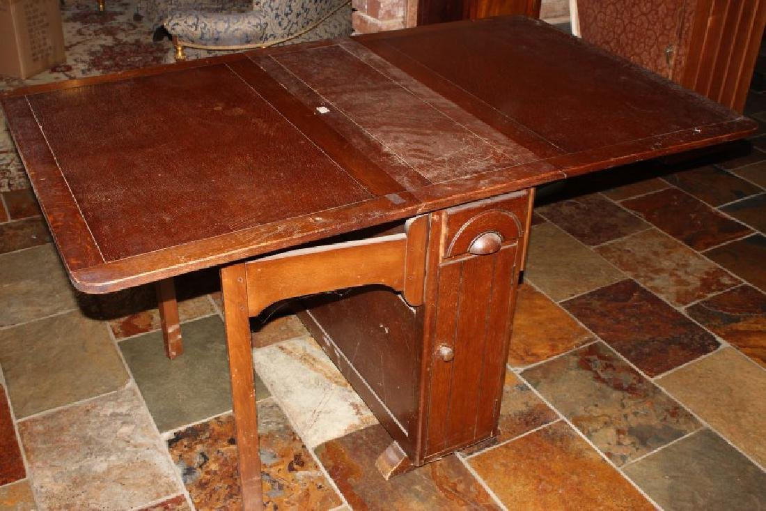 Double Drop Side Table,