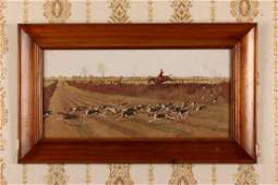 Framed Hunting Print,