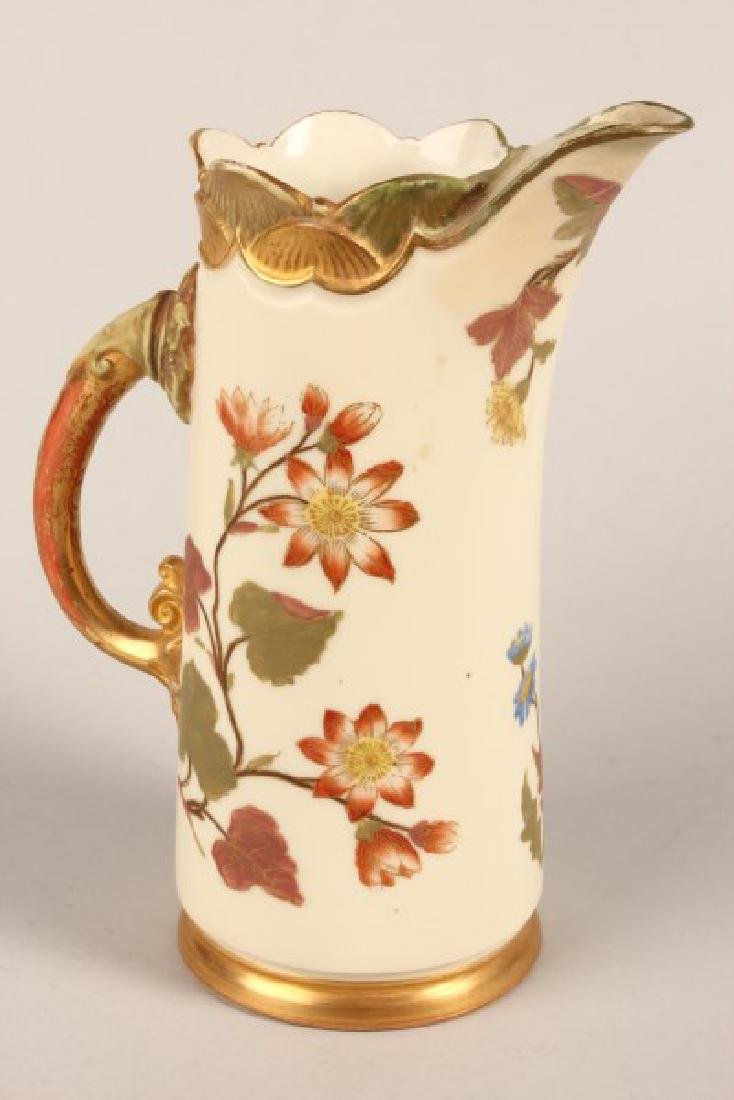 Royal Worcester Porcelain Jug,