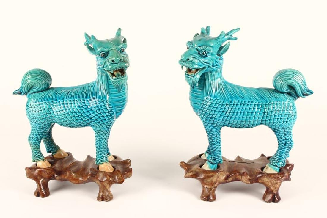 Pair of Chinese Foo Dogs,