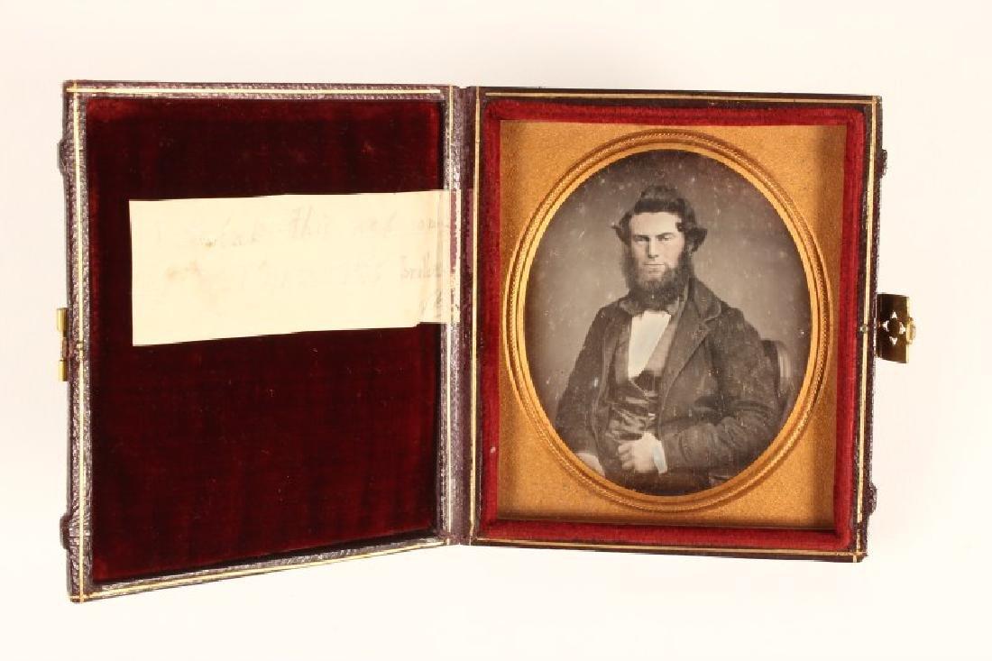 Cased Leather Daguerreotype,