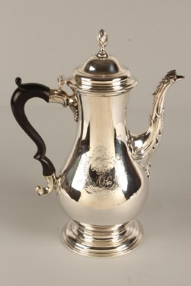 George III Sterling Silver Coffee Pot,