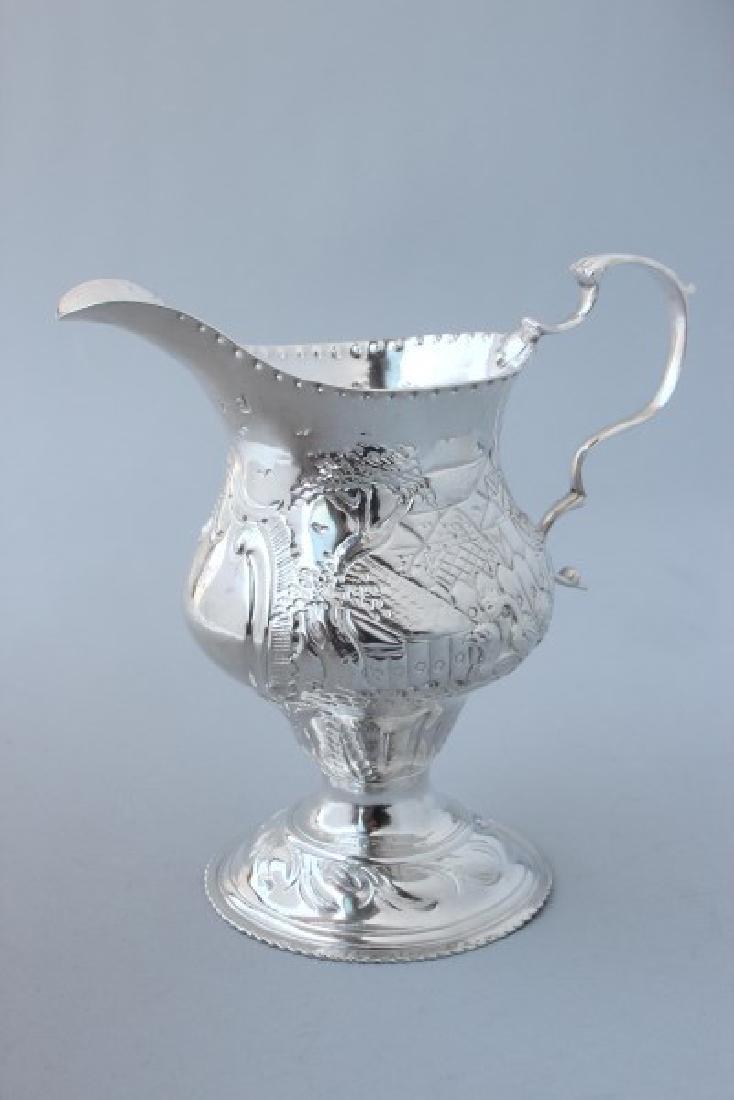 George III Sterling Silver Creamer,