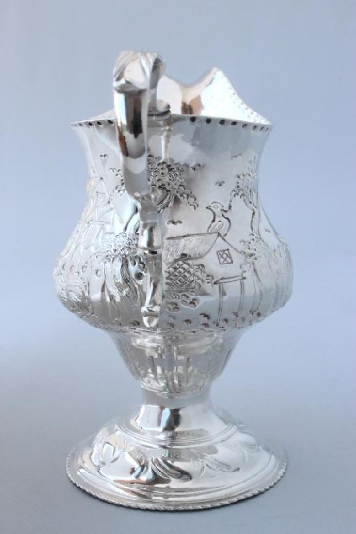 George III Sterling Silver Creamer, - 3