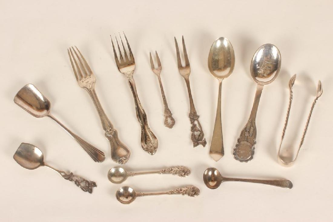 Group of Assorted Sterling Silver Cutlery,