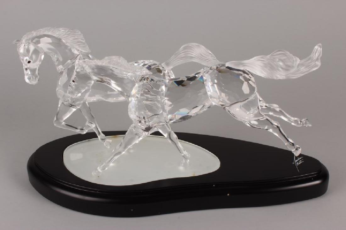 Rare Boxed Swarovski Crystal Figure Group,