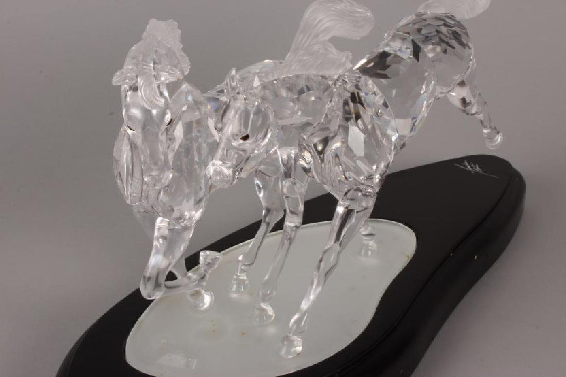 Rare Boxed Swarovski Crystal Figure Group, - 5