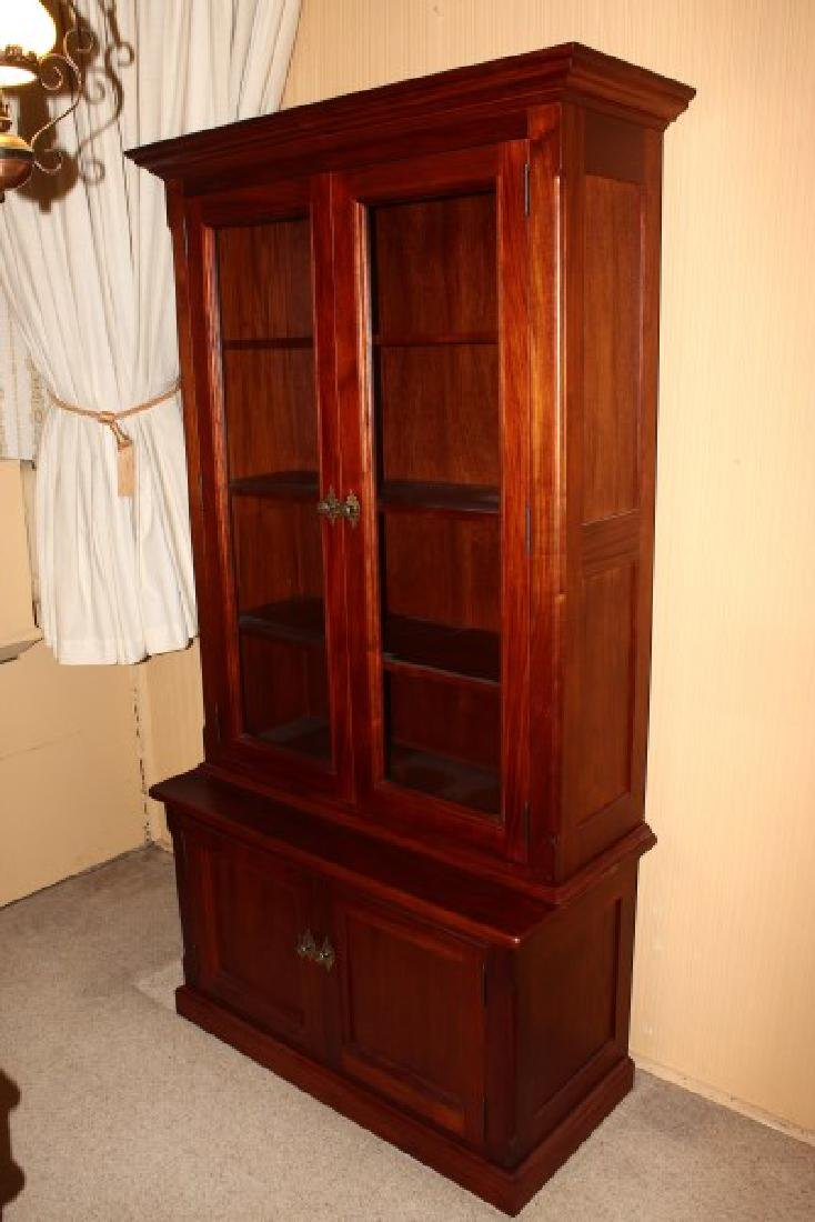 Victorian Style Two Door Bookcase,