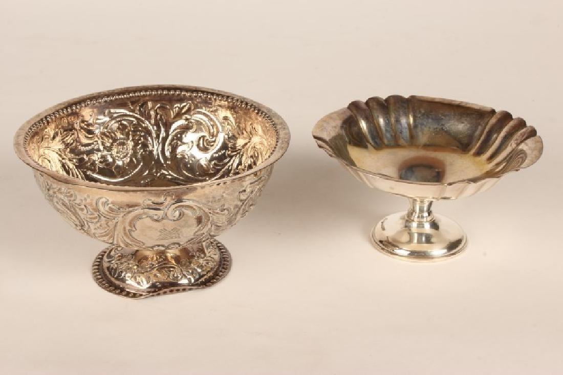 Victorian Sterling Silver Pedestal Bowl,