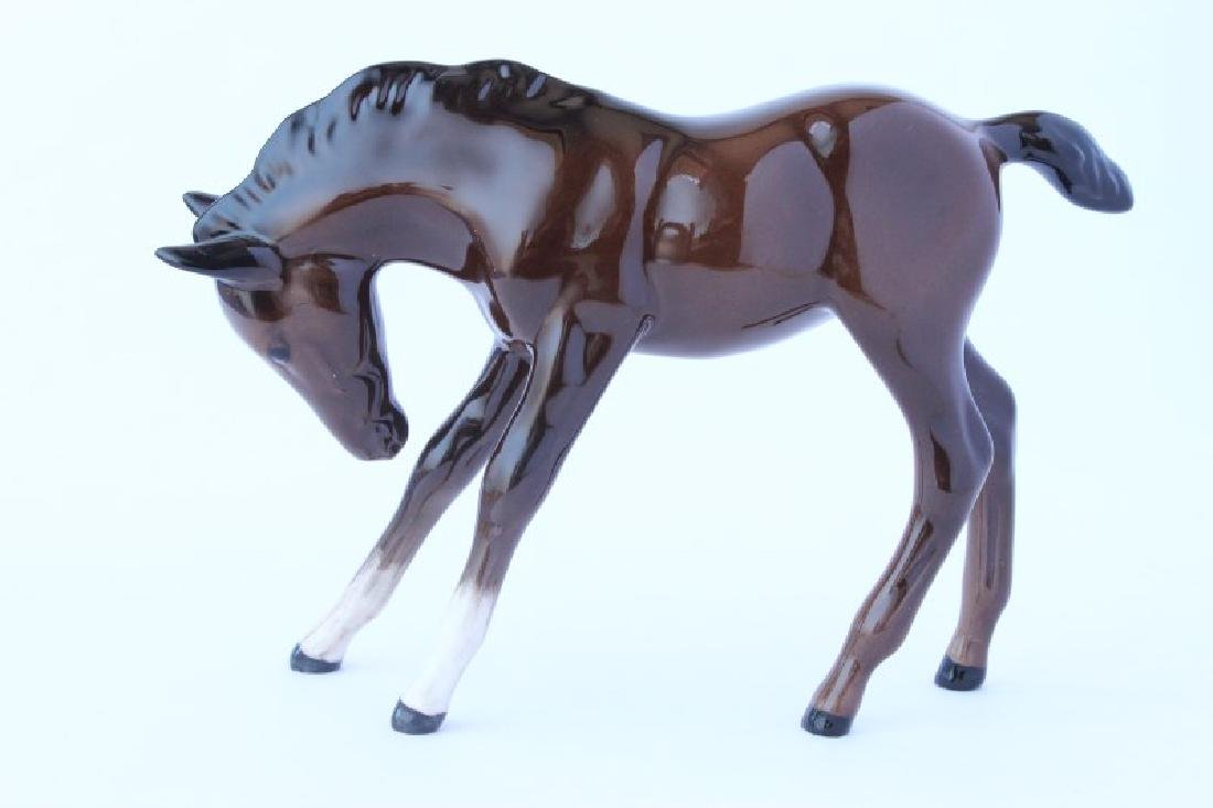 Royal Doulton Porcelain Foal Figure,