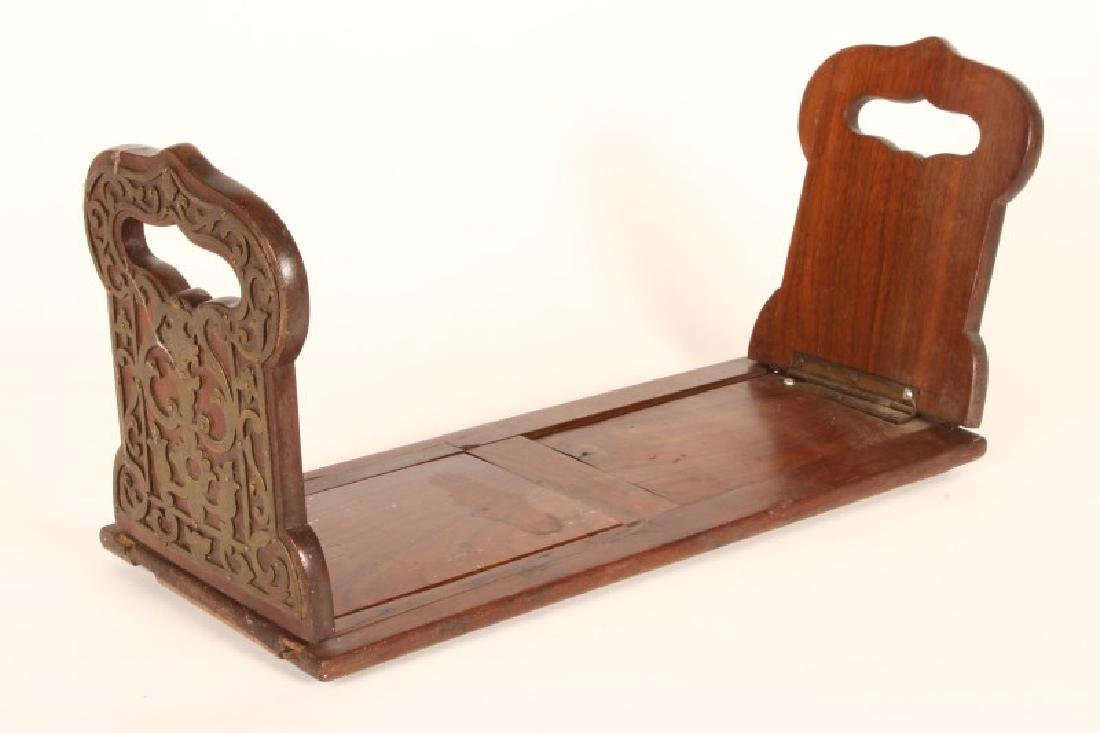 Late Victorian Folding Bookend,