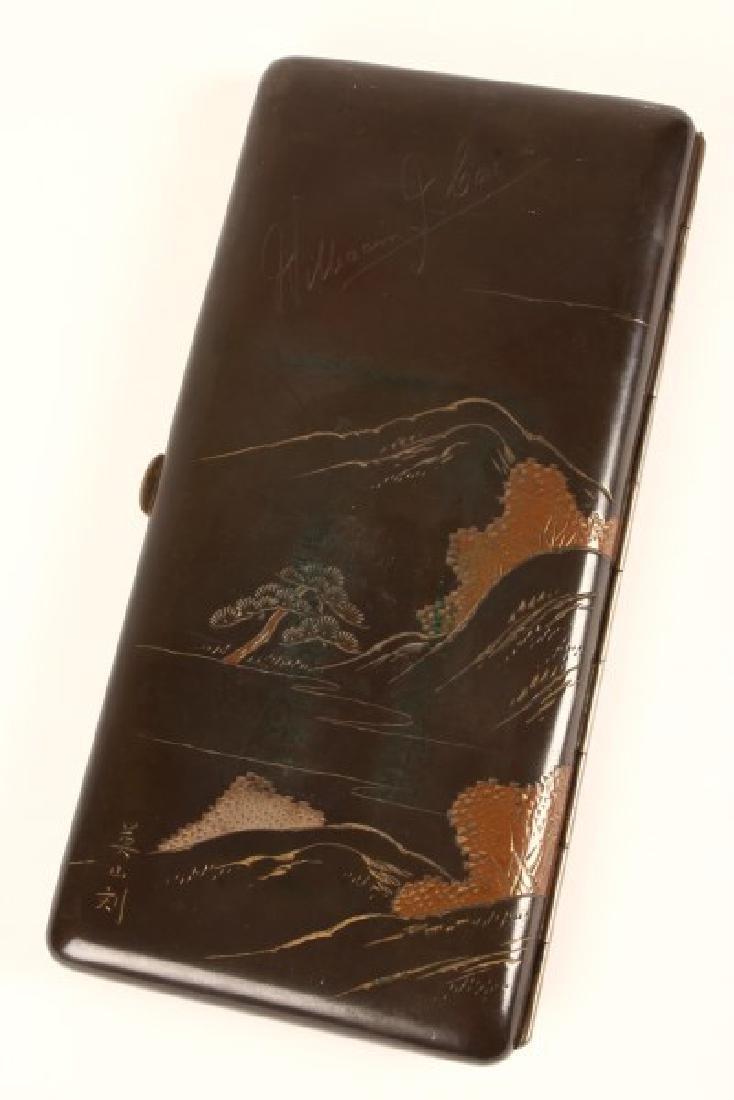 Japanese Cigarette Case, - 2