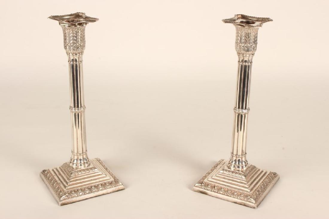 Wonderful Pair of Edwardian Sterling Silver