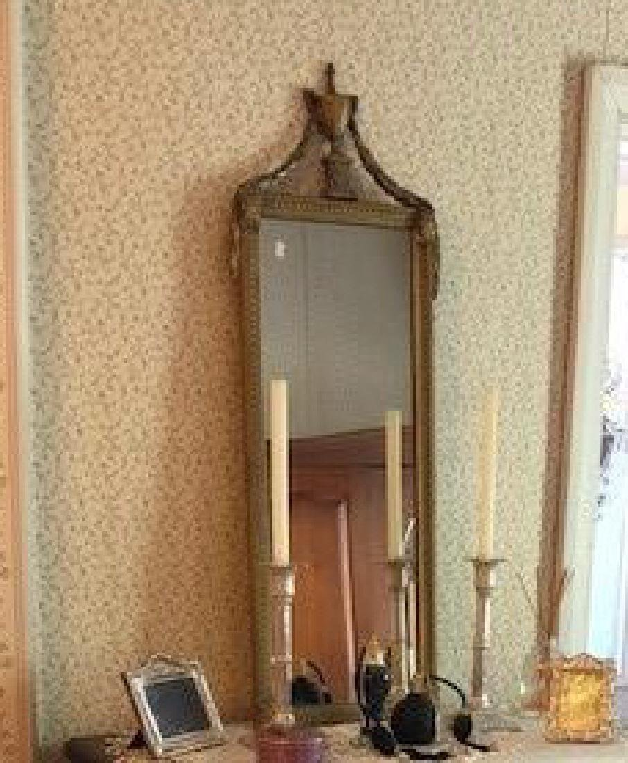 Gilt Neo-Classical Wall Mirror,