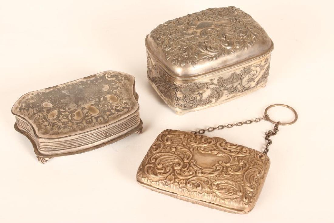 Victorian Sterling Silver Purse,