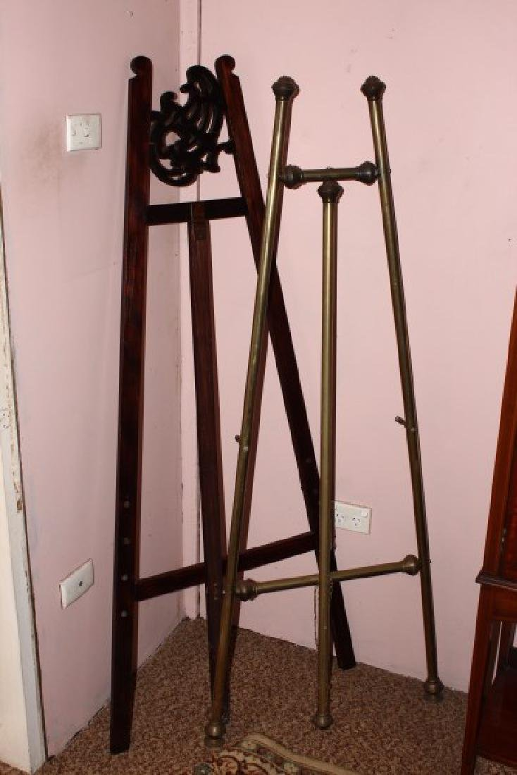 Two Artist Easels,
