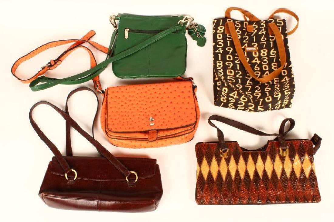 Good Selection of Five Ladies Handbags,