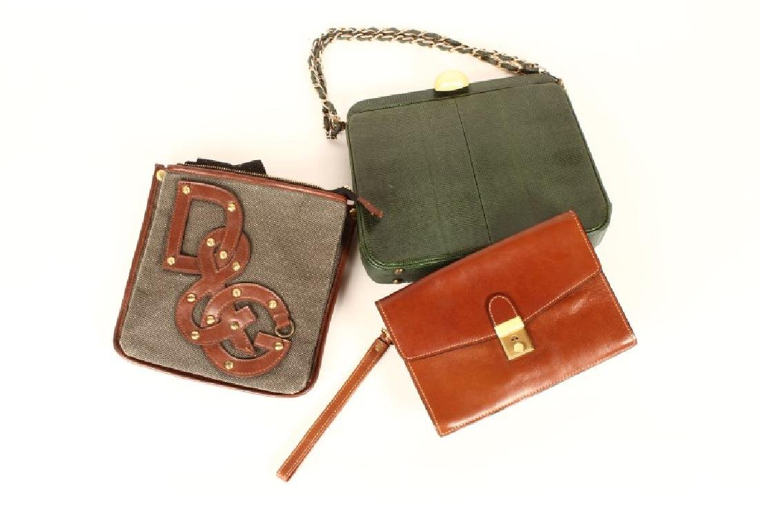 Three Lovely  Ladies Handbags,
