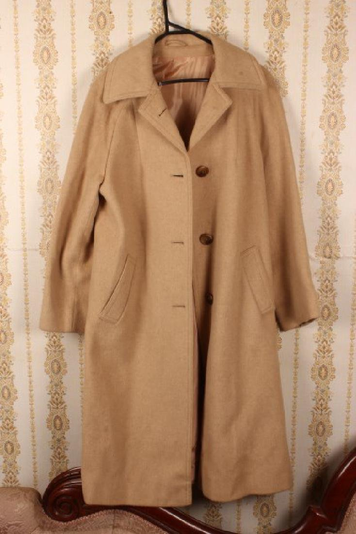 Ladies Full Length Camel Hair Coat,