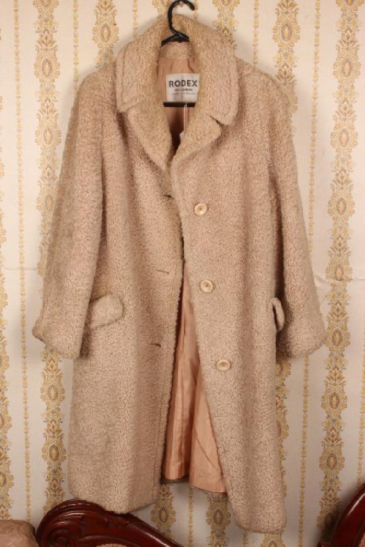 Ladies Full Length Wool Coat,