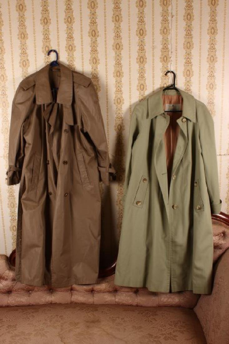 Two Äquascutum of London Trench Coats,