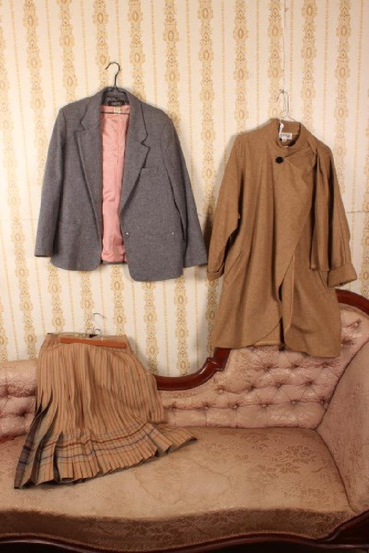 Ladies Skirt, Wool Coat and Blazer,
