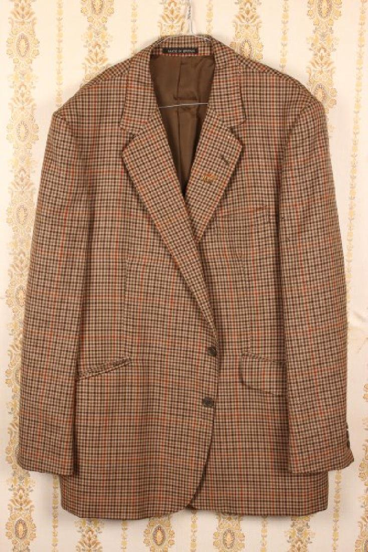 Gentleman's All Wool Check Sports Jacket,