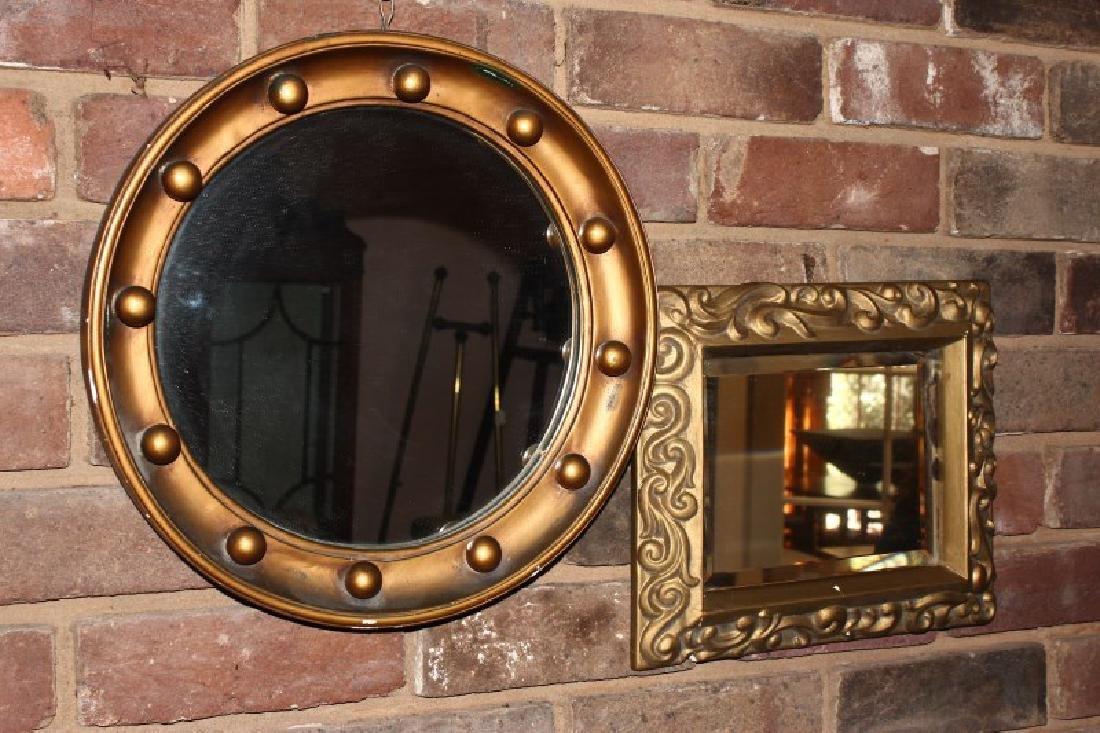 Two Gilt Mirrors,