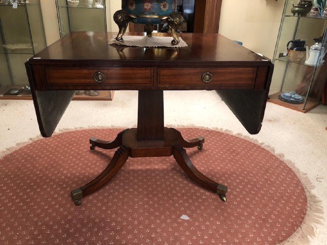 Good Regency Sofa Table,