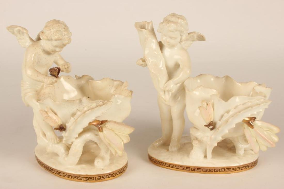 Pair of 19th Century Moore Brothers Figural