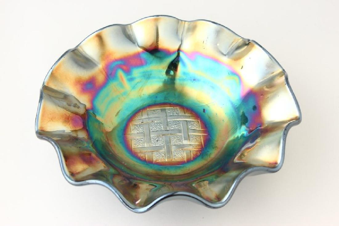 Carnival Glass Bowl,
