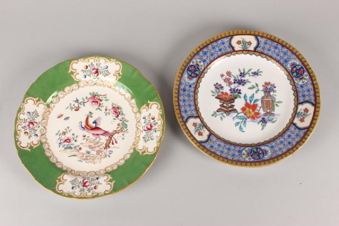 Two Minton Porcelain Plates,