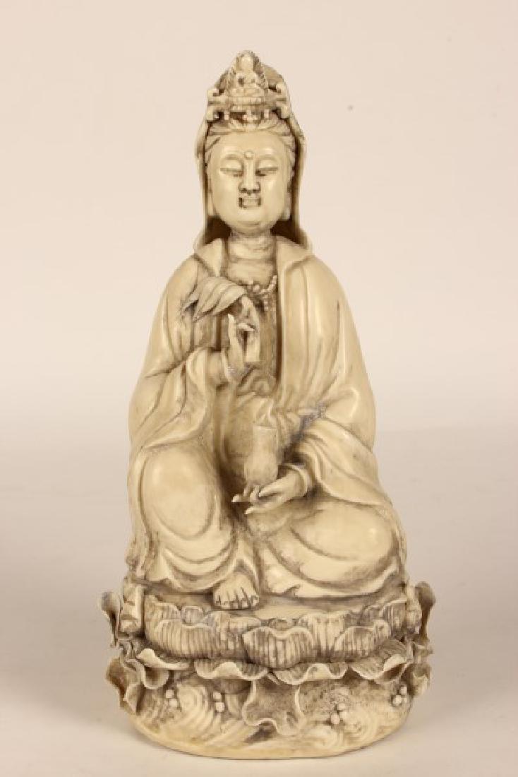 Chinese Blanc De Chine Kwan Yin,
