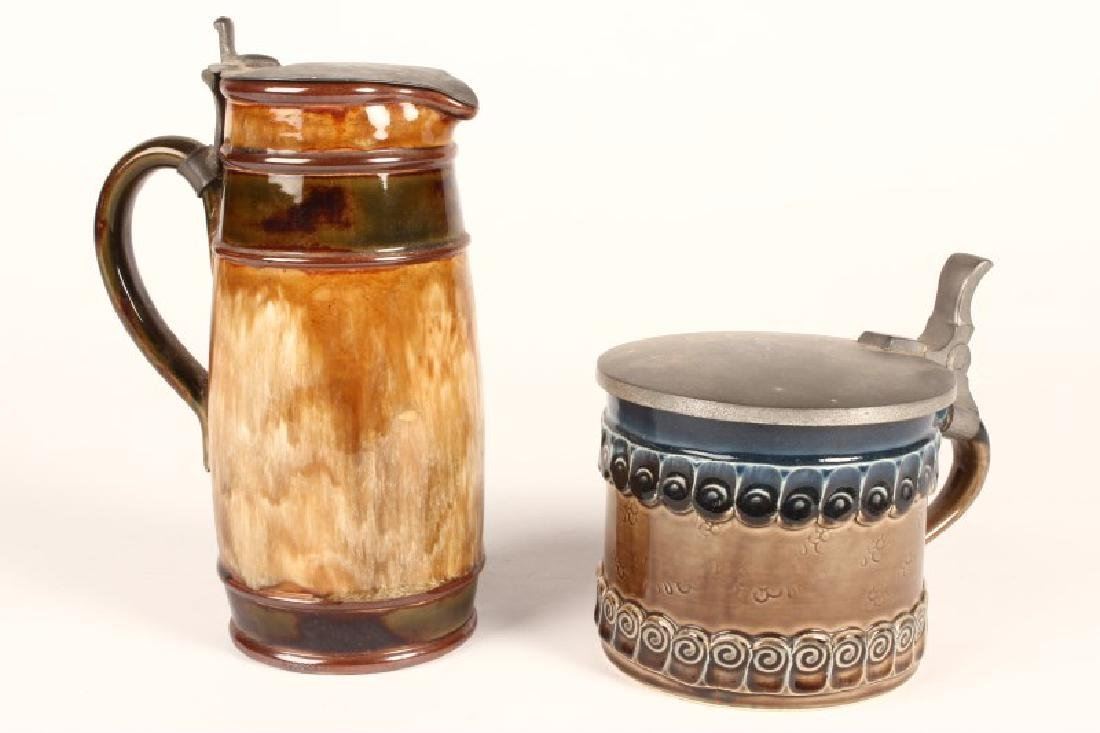 Royal Doulton Stoneware Ewer,