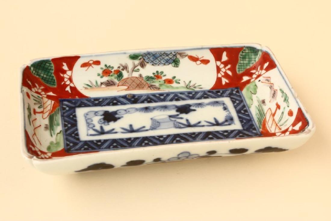 Japanese Imari Rectangular dish,