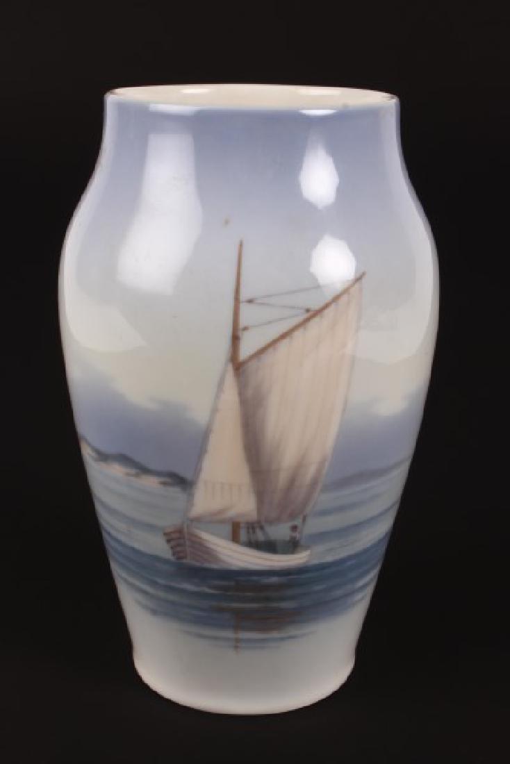 Royal Copenhagen Porcelain Vase,
