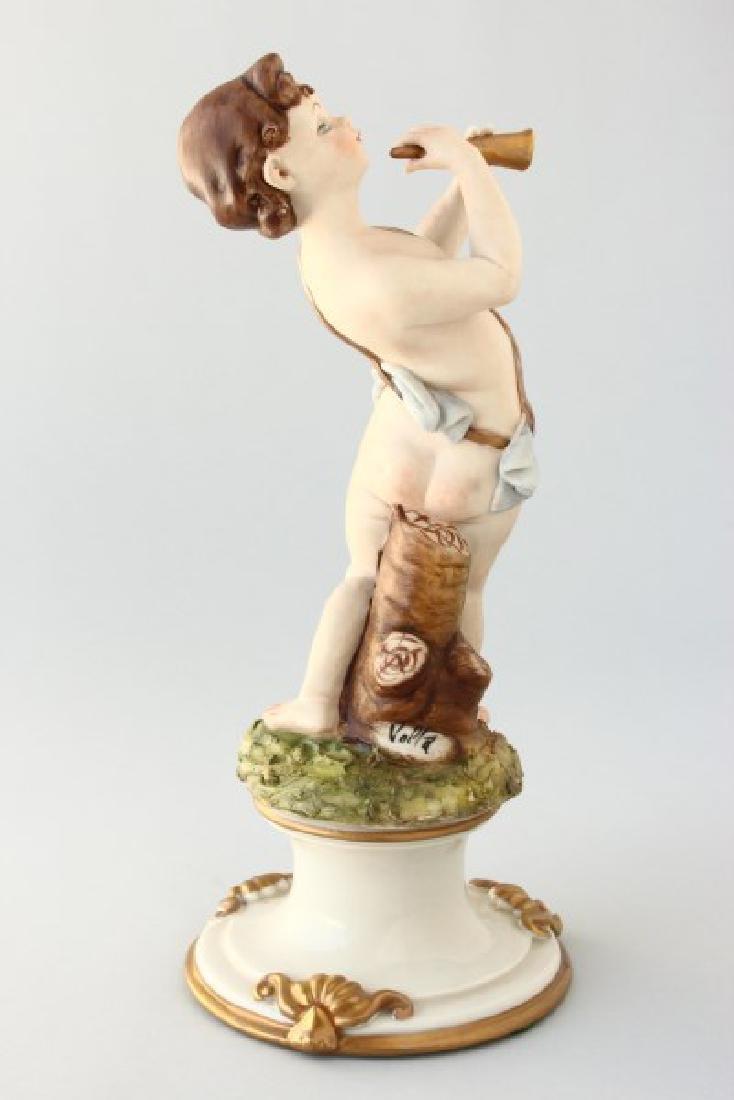 Capodimonte Bisque Figure, - 2