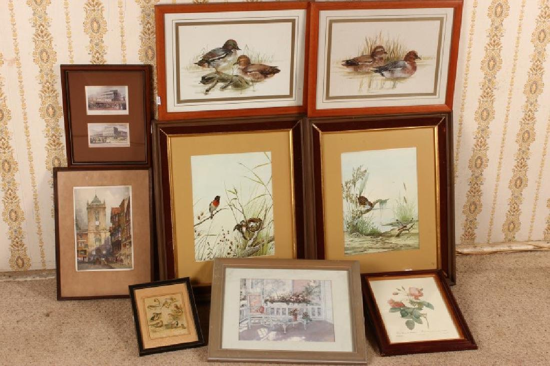 Group of Assorted Prints,