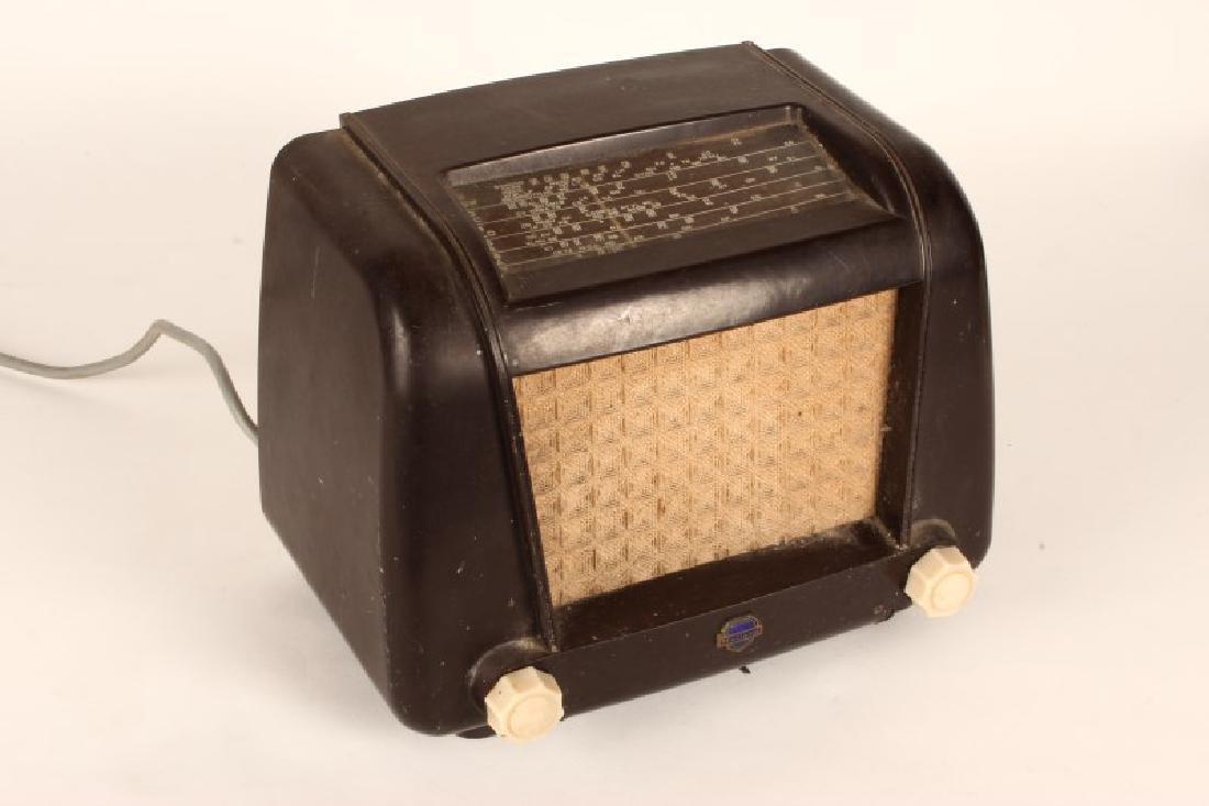 Vintage Mullard Bakelite Radio,