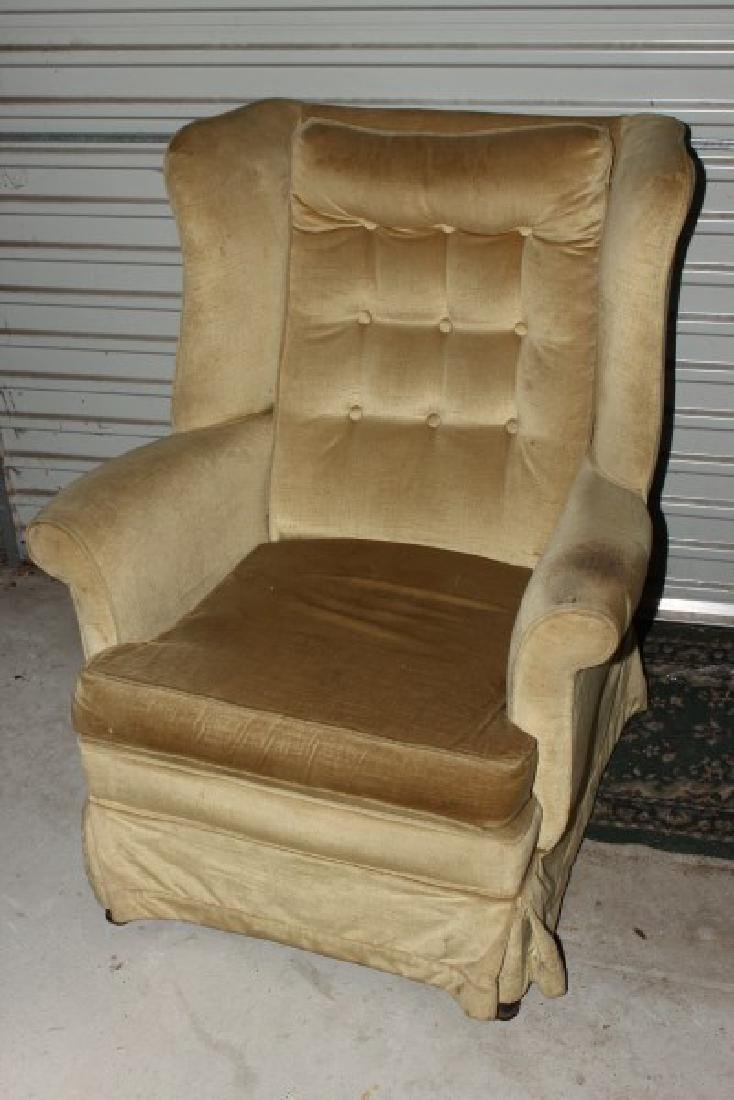 Wingback Armchair,