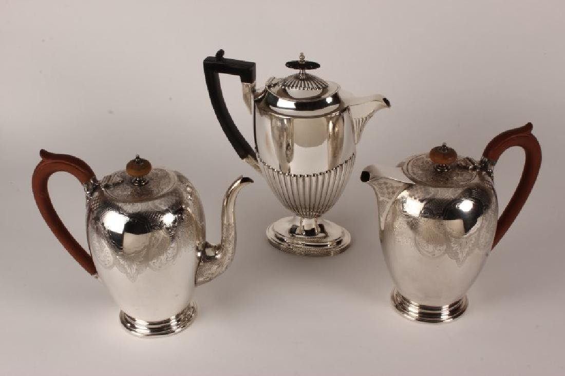 Wonderful Hardy Brothers Silver Plate Teapot and